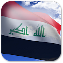 3D Iraq Flag Live Wallpaper logo