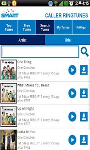 SMART Caller Ringtunes - screenshot thumbnail