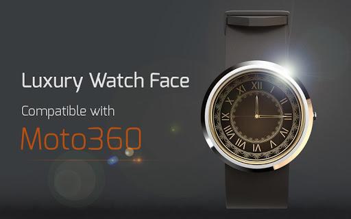 Luxury Watch Face