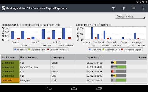 SAS® Mobile BI - screenshot thumbnail