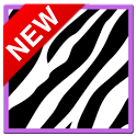 Cute PurpleZebra Keyboard Skin icon