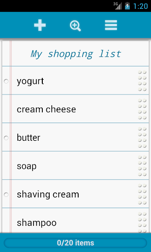Grocery List - QuickGroceryPro