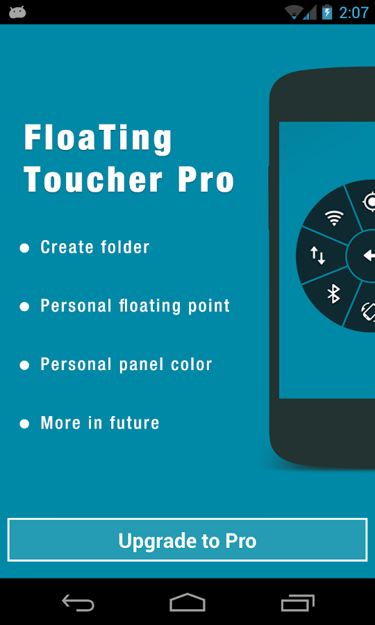 Floating Toucher- screenshot