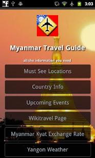 Myanmar Travel Guide- screenshot thumbnail