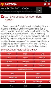 Horoscope 2015- Astrology 2015- screenshot thumbnail