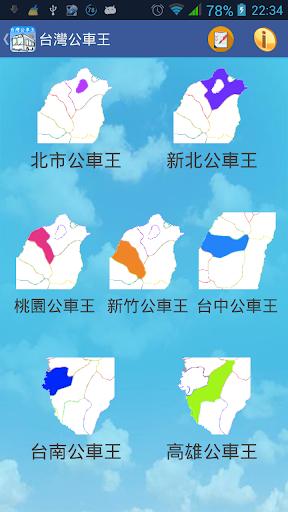 台灣 六都+新竹市 公車王