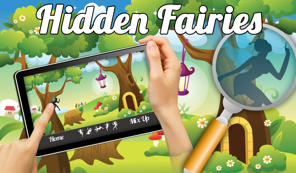 Fairies Hidden Objects Game - screenshot