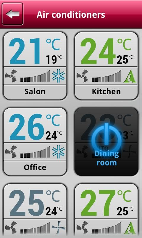 AC Mobile Control - screenshot