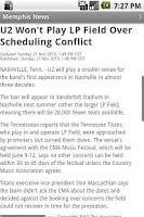 Screenshot of Memphis News