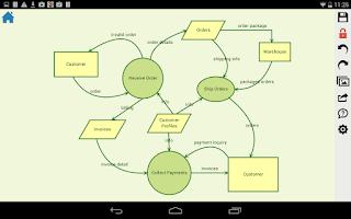Screenshot of DrawExpress Diagram Lite