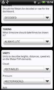 AirReport Pro - METAR & TAF Screenshot