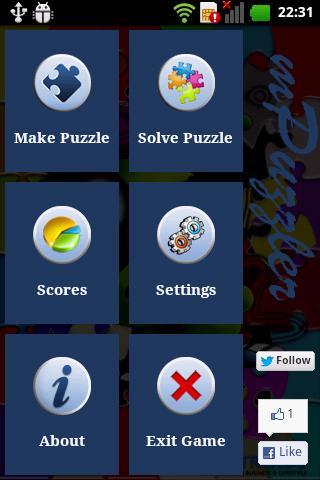 mPuzzler- screenshot