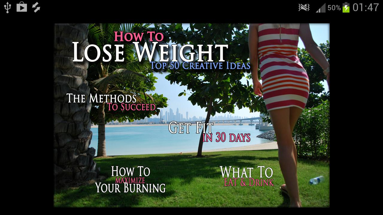 How to lose weight in 30 days - screenshot