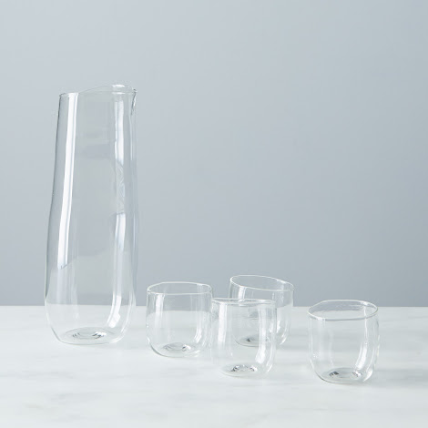 Glass Sake Set