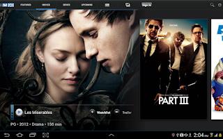 Screenshot of The Movie Network GO