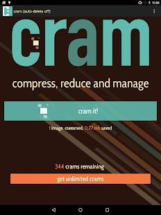 Cram - Reduce Pictures Screenshot