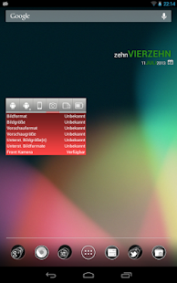 SystemInfo-Widget Screenshot