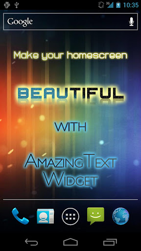 Screenshot for AmazingText Plus - Text Widget in United States Play Store