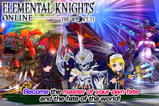 RPG Elemental Knights R (MMO) 4.1.0 screenshots 10