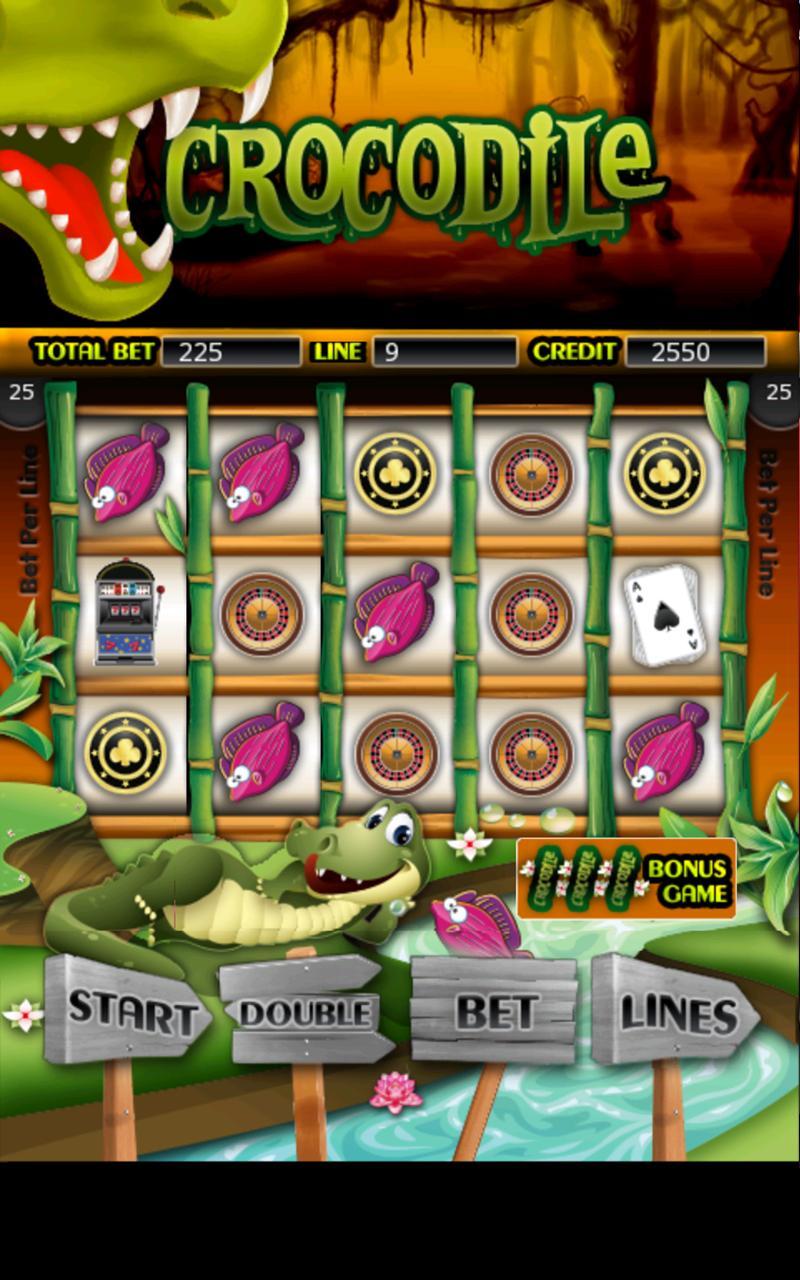Crocodile HD Slot Machines screenshot #1