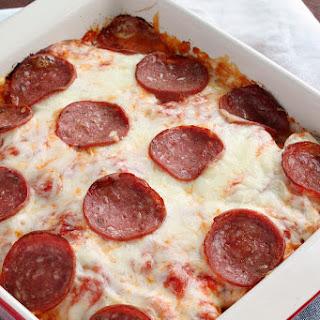 Pepperoni Pizza Scalloped Potatoes