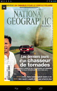 National Geographic France – Vignette de la capture d'écran