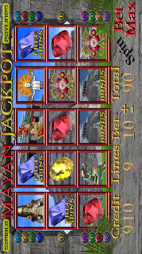 MAYAN JACKPOT Slot Machine