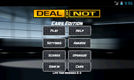 Deal or No Deal Cars Edition