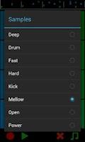 Screenshot of Hit it! The drum pad looper