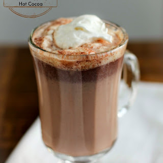 Spiced Eggnog Hot Cocoa.