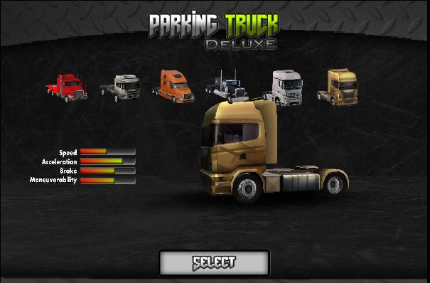 Parking Truck Deluxe - screenshot