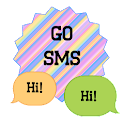 GO SMS - Beauty Burst 8 icon