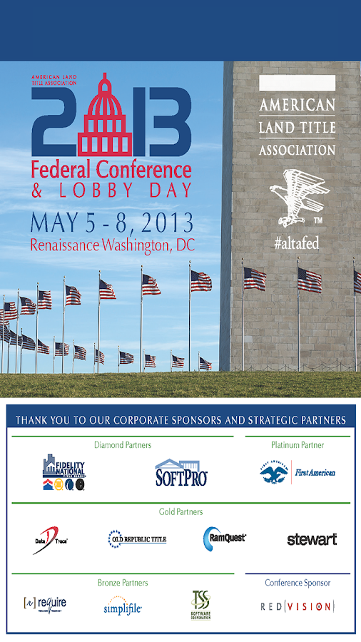 ALTA Federal Conference 2013 - screenshot
