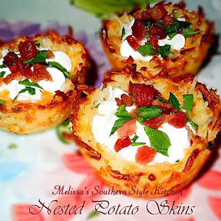 Nested Potato Skins [Potato Skin Nests]