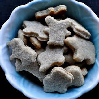 Homemade Animal Crackers.