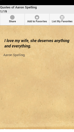 Quotes of Aaron Spelling