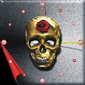 Mex Skull Analog Clock icon