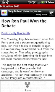Dr Ron Paul 2012 - screenshot thumbnail