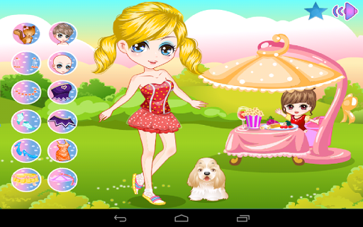Dress up barbie - Free Games