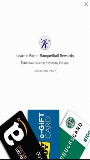 Racquetball: Earn n Learn