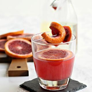 Blood Orange Whiskey Sour