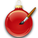 Christmas Ornaments and Tree icon