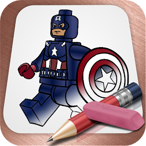 易拉:乐高超级英雄 LOGO-APP點子