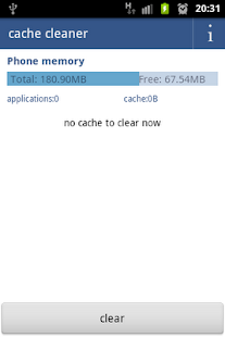 cache cleaner free - screenshot thumbnail