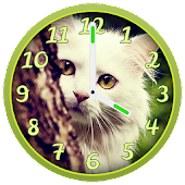 Cute Cats Clock