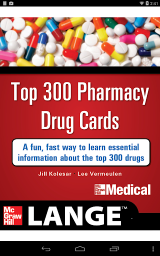 Lange Top 300 Pharm Drug Cards