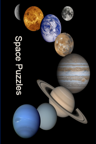 Kids Space Slide Puzzle Game
