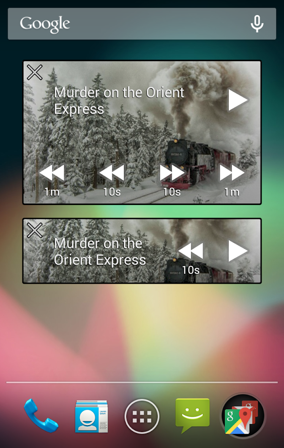 Smart AudioBook Player- screenshot