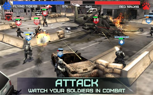 Rivals at War screenshot 3
