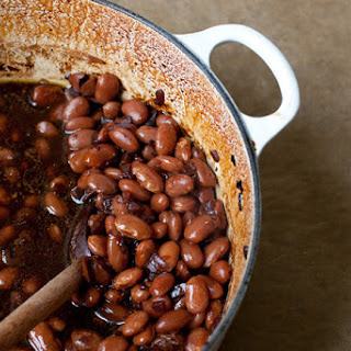 Berry Beer Baked Beans.